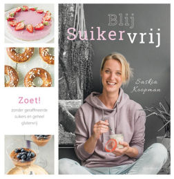 Blij suikervrij zoet van saskia koopman kookboeken nwz for Kookboek veganistisch