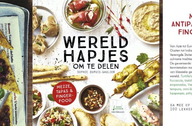 Kookboek recensie Wereldhapjes