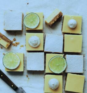 Lemon & Lime bars